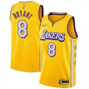 Los Angeles Lakers #8 Kobe Bryant City Jersey
